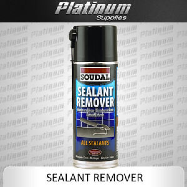 Soudal Sealant Remover 400ml Removing Hardened Silicone